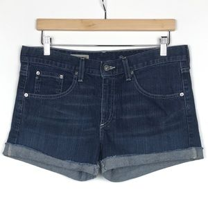 AG Adriano Goldschmied Gemma Denim Cutoff Shorts